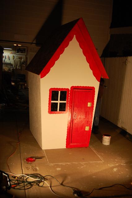 Santa's Workshop trimmed