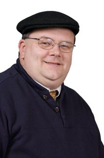 DaddyClaxton Blue Fl Hat 1