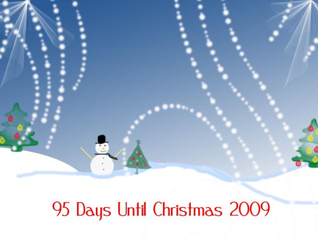 95 days till christmas