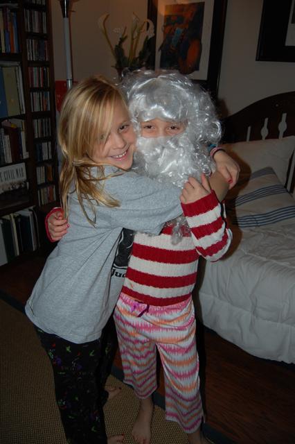 Rea & Santa Haley sm