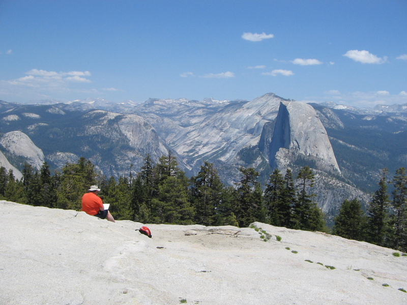 Drawing Half Dome
